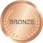 Bronze medal graphic