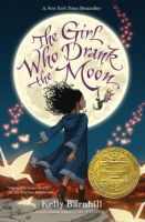 "cover of ""Girl who drank the moon"""