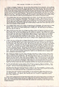 Single page typed sheet on white paper