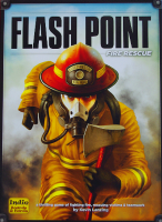 flashpoint game cover shows a firefighter running