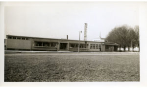 The Palais Royal—Arlington Farms' department store and beauty shop. In addition to a store and recreation hall, Arlington Farms had a chapel, a post office, and a cafeteria.