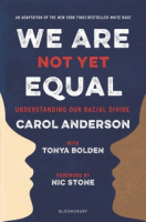 Book Cover: We Are Not Yet Equal