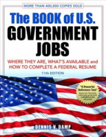 "cover of ""Book of U.S. Government Jobs"""