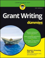 """cover of """"Grant Writing for Dummies"""""""