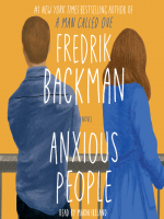 Book Cover for Anxious People