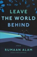 """Book Cover for """"leave the world behind"""""""