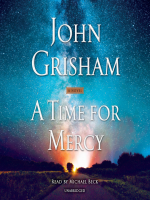 """Book cover for """"A Time for Mercy"""""""