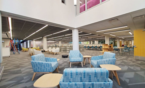 Newly renovated Columbia Pike branch