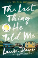 book cover: The Last Thing He Told Me