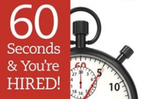 "cover of ""60 Seconds and you're hired"""