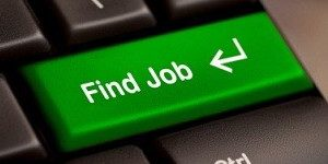 """Find a Job"" button on a keyboard"